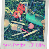 March Favorites 2015 + LIFESTYLE FAVES!